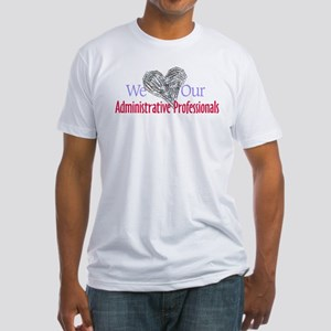 Administrative Professionals Fitted T-Shirt