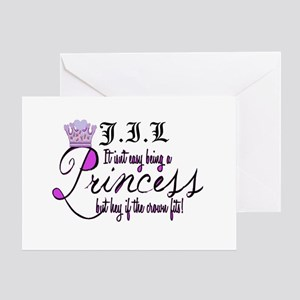 Personalize Princess Greeting Card