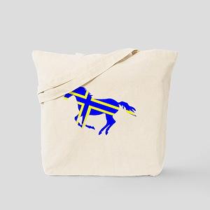 Sweden Horse Tote Bag