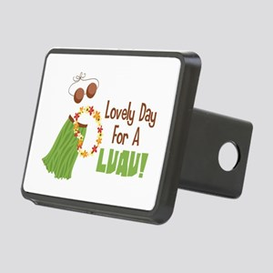 Lovely Day For A Luau! Hitch Cover
