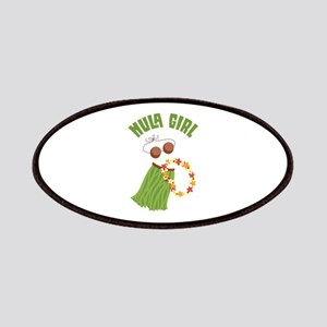 Hula Girl Patches