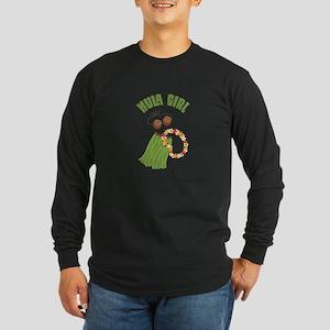 Hula Girl Long Sleeve T-Shirt