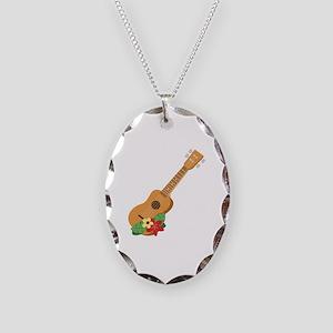 Ukulele Instrument Necklace