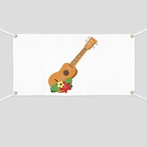 Ukulele Instrument Banner