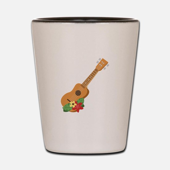 Ukulele Instrument Shot Glass