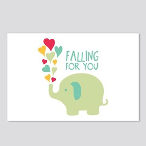 Falling For You Postcards (Package of 8)