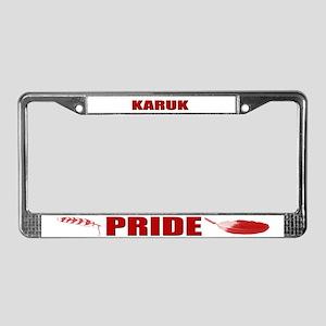 Karuk Pride License Plate Frame