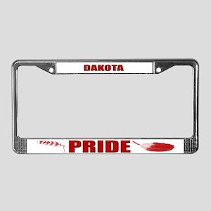 Dakota Pride License Plate Frame
