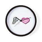 Screw Love Wall Clock