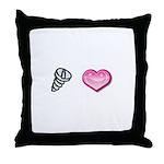 Screw Love Throw Pillow