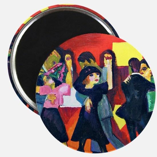 Kirchner - Tango Tea; Ernst L. Kirchner pai Magnet