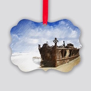 Shipwreck Ornament