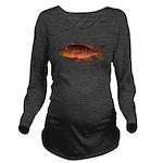 Cubera Snapper dark c Long Sleeve Maternity T-Shir