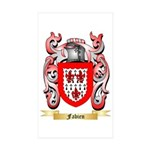 Fabien Sticker (Rectangle 50 pk)