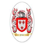 Fabi Sticker (Oval 50 pk)