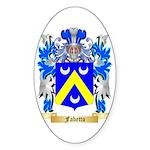 Fabetto Sticker (Oval 50 pk)