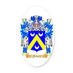 Fabert Oval Car Magnet