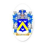 Faber Oval Car Magnet