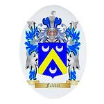 Fabbri Ornament (Oval)
