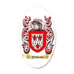 Fabbiano Oval Car Magnet