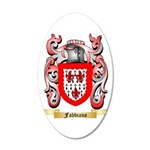 Fabbiano 20x12 Oval Wall Decal