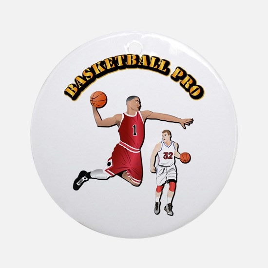 Sports - Basketball Pro Ornament (Round)