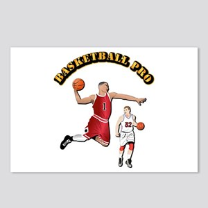 Sports - Basketball Pro Postcards (Package of 8)