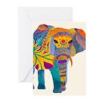 Whimsical Elephant Greeting Cards (Pk Of 20) Greet