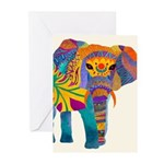 Whimsical Elephant Greeting Cards (Pk Of 20) Greet