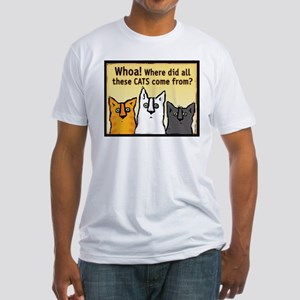 """Whoa!"" Fitted T-Shirt"