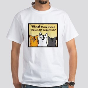 """Whoa!"" White T-Shirt"