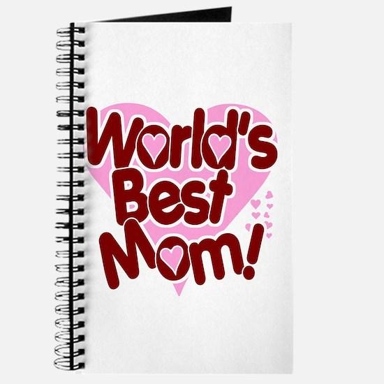 World's BEST Mom! Journal