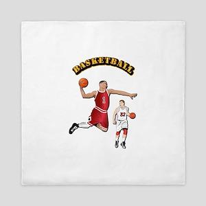 Sports - Basketball Queen Duvet
