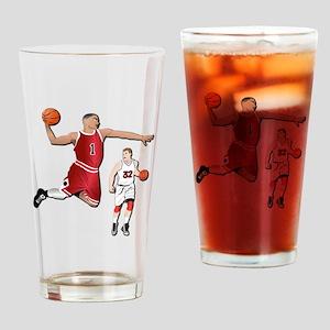 Sports - Basketball - No Txt Drinking Glass