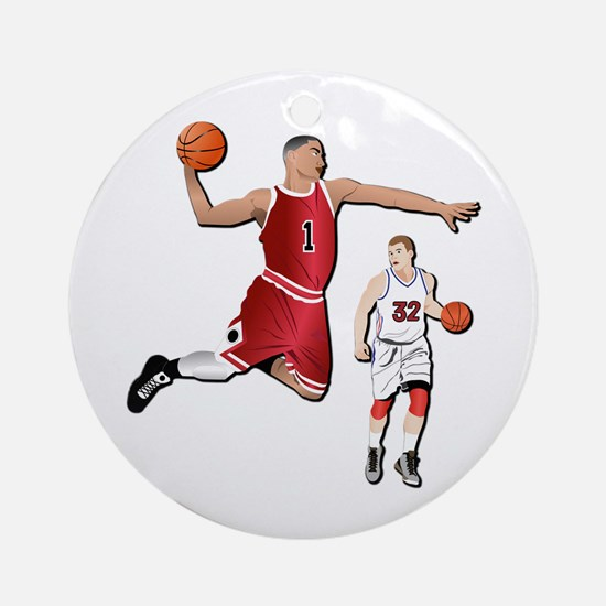Sports - Basketball - No Txt Ornament (Round)
