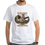 Spotted Towhee White T-Shirt