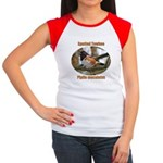 Spotted Towhee Women's Cap Sleeve T-Shirt