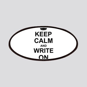Keep Calm and Write on Patches