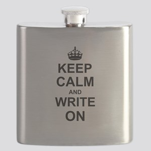 Keep Calm and Write on Flask