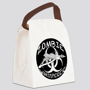 Zombie Whisperer 4ab Canvas Lunch Bag