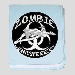 Zombie Whisperer 4ab baby blanket