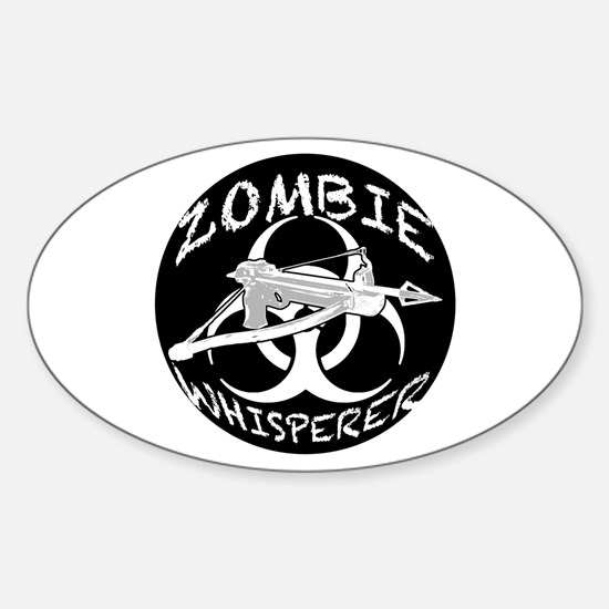 Zombie Whisperer 4ab Sticker (Oval)