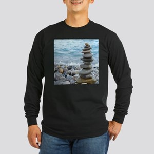 Zen Stone Tower Long Sleeve T-Shirt