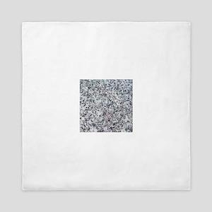 Faux Granite graphic Queen Duvet