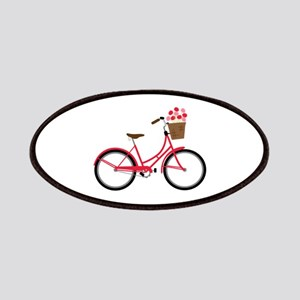 Bicycle Bike Flower Basket Sweet Ride Patches