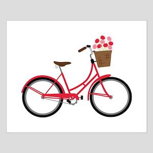 Bicycle Bike Flower Basket Sweet Ride Posters
