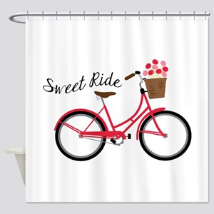 Sweet Ride Shower Curtain