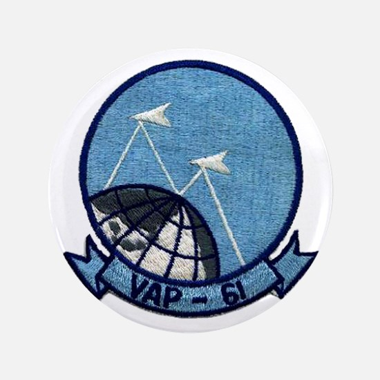"""VAP 61 World Recorders 3.5"""" Button"""