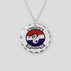 VP 56 Dragons Necklace Circle Charm