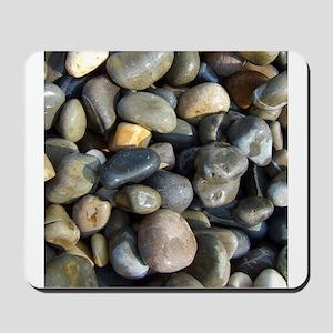 Polished pebbles Mousepad